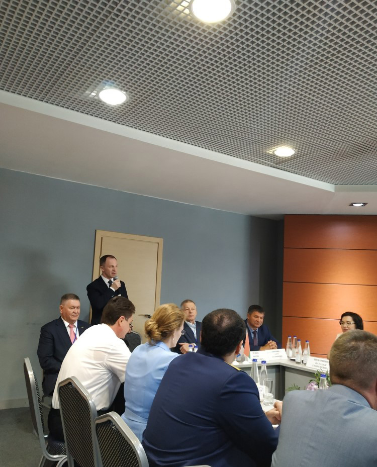 Выступление заместителя министра Транспорта на IX сессии КТС стран СНГ
